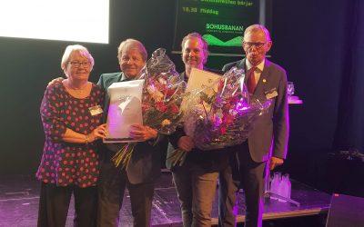 Bohuspriset 2018 till Anders Granhed och Janne Bark